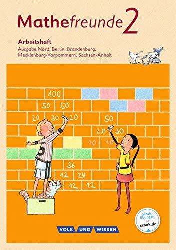Mathefreunde - Nord - Neubearbeitung 2015: 2. Schuljahr - Arbeitsheft