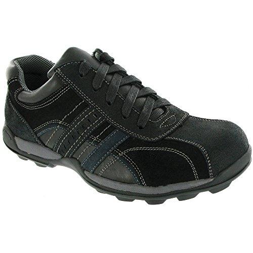Amblers Paul Herren Schnürschuhe / Sneakers Black