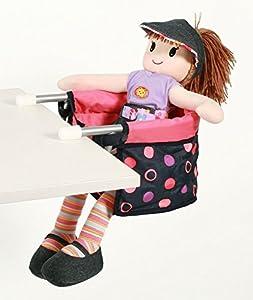 Bayer Chic 2000 735 20 - Muñeca Asiento de Mesa, Accesorios para muñecas, Coral