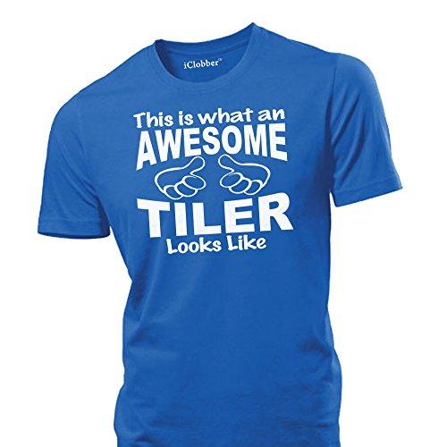 iclobber-awesome-tiler-mens-t-shirt-medium-royal-blue