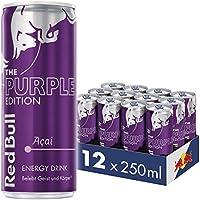 Red Bull Energy Drink Acai-Beere 12 x 250 ml Dosen Getränke Purple Edition 12er Palette