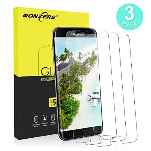3 Stück Panzerglasfolie für Samsung Galaxy S7 Panzerglas Schutzfolie Ultra-klar Anti-Kratzen, Anti-Fingerabdruck Blasenfrei Einfache Installation Bildschirmschutzfolie Folie für Samsung Galaxy S7