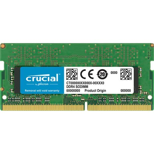 Crucial CT16G4SFD824A 16GB Speicher (DDR4, 2400 MT/s, PC4-19200, Dual Rank x8, SODIMM, 260-Pin) -