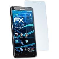 3 x atFoliX Lámina Protectora de Pantalla Lenovo A616 Película Protectora - FX-Clear ultra transparente