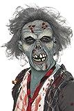 Smiffys Déguisement Homme, Masque de zombie pourri, Tête complète, latex , 36852