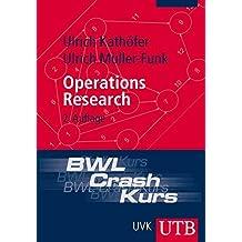 BWL-Crash-Kurs Operations Research