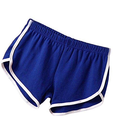 Brightup Frauen Shorts Damen Sport Shorts Sommer Fitness Yoga Kurze Lauf Shorts Gym Shorts Hosen
