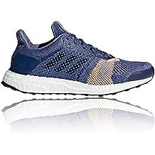 sports shoes 7a3f7 08cdb adidas Ultraboost St W, Chaussures de Trail Femme, Bleu, 43.3 EU