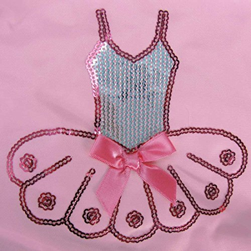 kilofly–Ballerina con tutu ballet danza borsa + pratico astuccio Pink Tutu