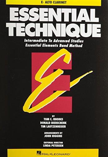 Essential Technique - Eb Alto Clarinet Intermediate to Advanced Studies (Book 3 Level)