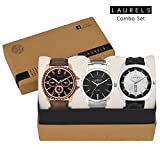 Laurels Combo Of Three Watches (Cp-101-P...