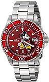 Invicta 24759 Disney Limited Edition - Mickey Mouse Reloj Unisex acero inoxidable Automático Esfera rojo