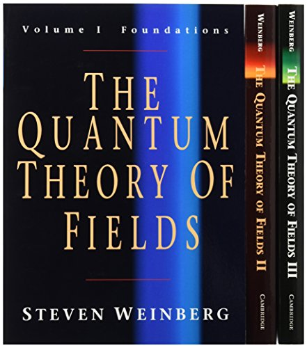 The Quantum Theory of Fields 3 Volume Paperback Set: v. 1-3
