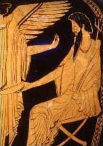 Preisvergleich Produktbild Ancient Greek Goddess NIKE by Gregory Zorzos