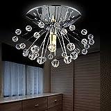 #7: GENERIC hot sale design modern crystal chandelier light Dia15*H7cm mini lustre cristal led lamp for home Guaranteed 100%