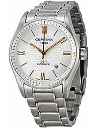 Certina Herren-Armbanduhr XL Analog Automatik Edelstahl C006.407.11.038.01