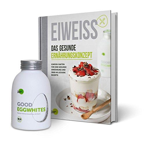 Eiweiß-Paket Gesunde Ernährung: 1 Flasche Good Eggwhites (Bio-Eiklar) & das...