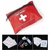 Bargain World Primeros auxilios deporte bolsa de kit de paquete de viaje de emergencia de supervivencia