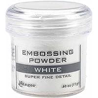 Ranger Sf White-Embossing - Polvo para grabado, acrílico, Blanco
