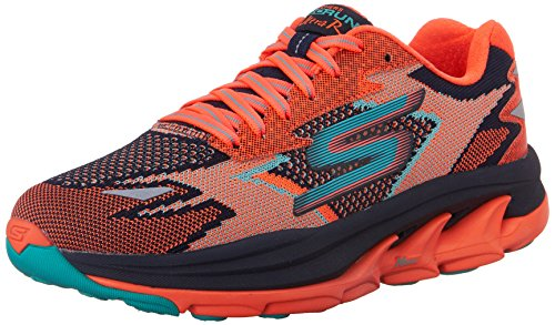 SkechersGo Run Ultra R - Road - Zapatillas de running mujer, Naranja (