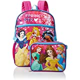 Disney Girls' Princess Backpack With Lunch