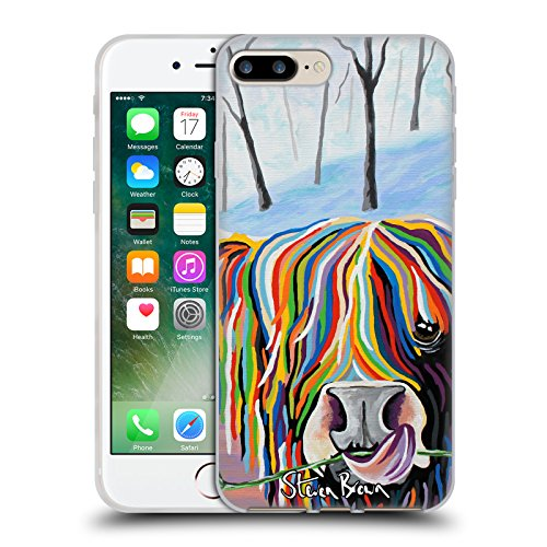 Ufficiale Steven Brown William Rabbie Wallace Mccoo Mucca Delle Montagne 2 Cover Morbida In Gel Per Apple iPhone X Agnes Mccoo & The Weans