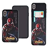 iPhone XS Max Coque Marvel Avengers Infinity War Fin Slider Housse: Emplacement...