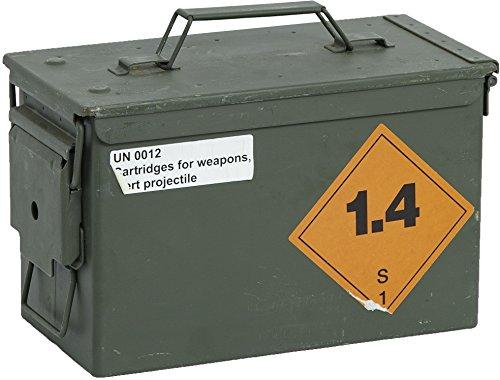 """kleine Munitionskiste\""""4API\"""" Aufbewahrungskiste ca 30,5x19x15,50cm Militärkiste Munitionsbox Holzkiste Holzbox Weinkiste Apfelkiste Shabby Vintage"""