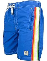 Tokyo Laundry 'Alroy Men's Striped Multi Pocket Swim Shorts