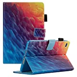 iPad Mini 4. Generation Fall, iPad Mini 4Retina Case, dteck [Drei Schicht] Cabrio [Heavy Duty] Robuste Hybrid Full Body Schutzhülle mit Standfuß für iPad Mini 4Modell A1538/A1550#03 Rainbow Ice