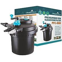 All Pond Solutions filtro a presión y esterilizador UV para estanque de peces para pfc, 8000 Litre