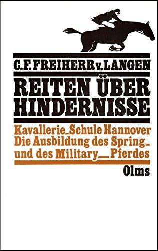 Reiten über Hindernisse (Olms Presse) (Spring Reiten Pferd)