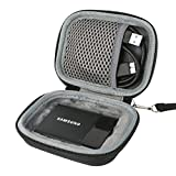 for Samsung Memory 1 T1 Terabyte USB 3.0 Portable SSD External Solid State Drive 250GB 500GB 1TB Hard Shockproof Storage Carry Travel Case Bag by co2CREA