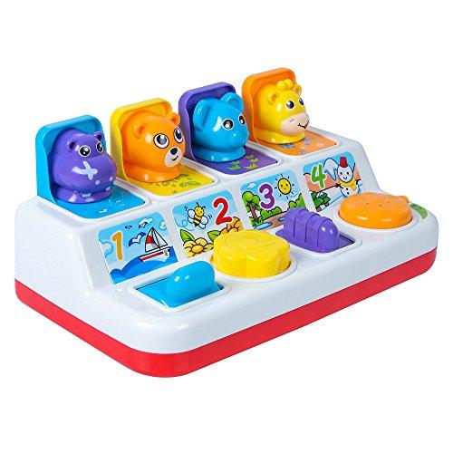 Samaira Toys POP UP Animals Game with Music