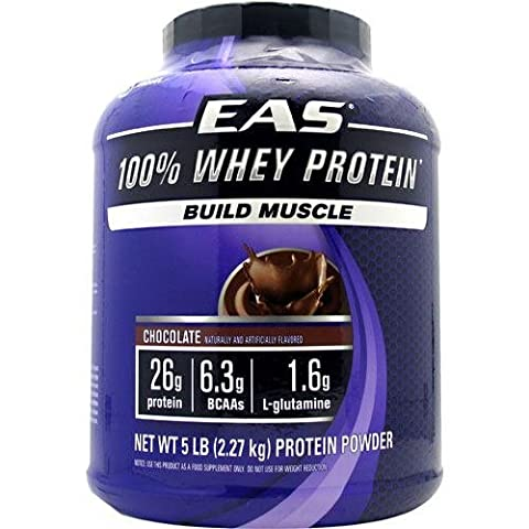 100%Whey Protein Powder, Choclt, 5 lb ( Multi-Pack) by EAS