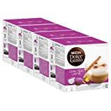 Nescafé Dolce Gusto Chai Tea Latte, Lot de 4, 4 x 16 Capsules (32 Portions)