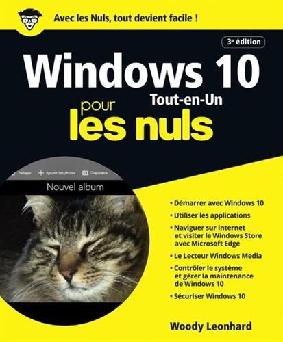 Windows 10 pour les Nuls Tout en 1, 3e �...