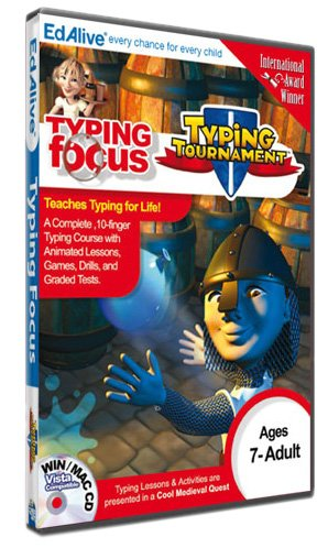 Typing Tournament (PC CD) Test