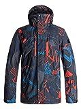 Herren Snowboard Jacke Quiksilver Mission Printed Jacke