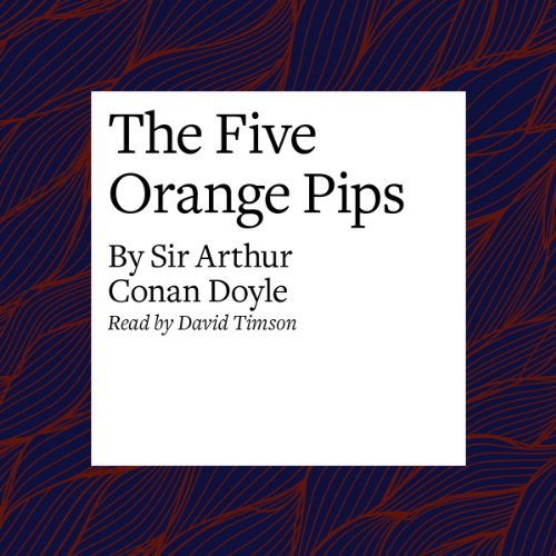 The Five Orange Pips  Audiolibri