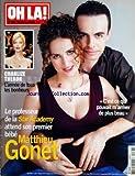 OH LA [No 283] du 24/02/2004 - CHARLIZE THERON - LE PROFESSEUR DE LA STAR ACADEMY ATTEND SON 1ER ENFANT / MATTHIEU GONET