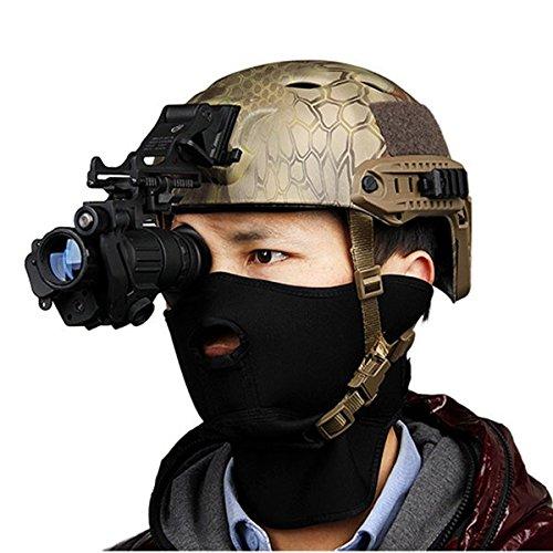 Preisvergleich Produktbild mark8shop Digital Night Vision Gerät Helm HD Teleskop American Monokular
