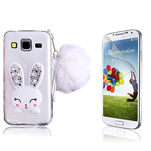 Samsung Galaxy G530 Cover,Bonice Samsung Galaxy G530 Custodia, Crystal Clear