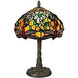 Arte Dal mondo Dragonfly lámpara lámparas de mesa de cristal de Tiffany-style artesanía GD10123
