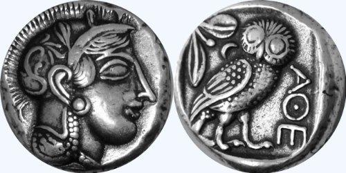k of Athena Griechische Götter und Göttinnen Coin Collection (12-S) ()