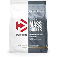 Dymatize Super Mass Gainer - Cookies and Cream - 12 lbs