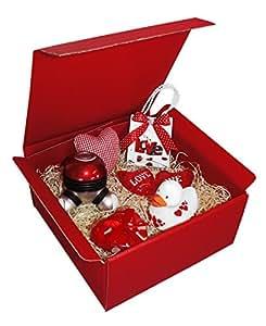 """Geschenkset """"Sweet Love"""" für tolle Momente – verschenkfertig! Das Geschenk für Frauen, die Geschenkbox für die Liebe"""