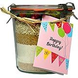 """Kuchen Backmischung - Geburtstagskuchen """"Happy Birthday!"""""""