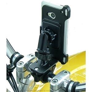 fahrrad motorrad handy kamera befestigung f r htc one. Black Bedroom Furniture Sets. Home Design Ideas