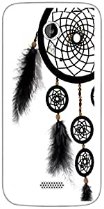 Snoogg Dream Catcher Designer Protective Back Case Cover For Micromax A116